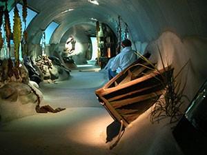 Billede Fjord og Bælt Center Kerteminde vandtunnel Sommer Larsen