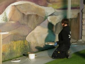 Billede -vægmaleri-maleri-teater-tv-sommer-larsen