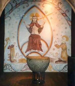 Maleri til den romanske kirke
