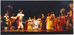 Billede Scenografi Lyssætning Vejle Musik Teater Elverhøj Sommer Larsen