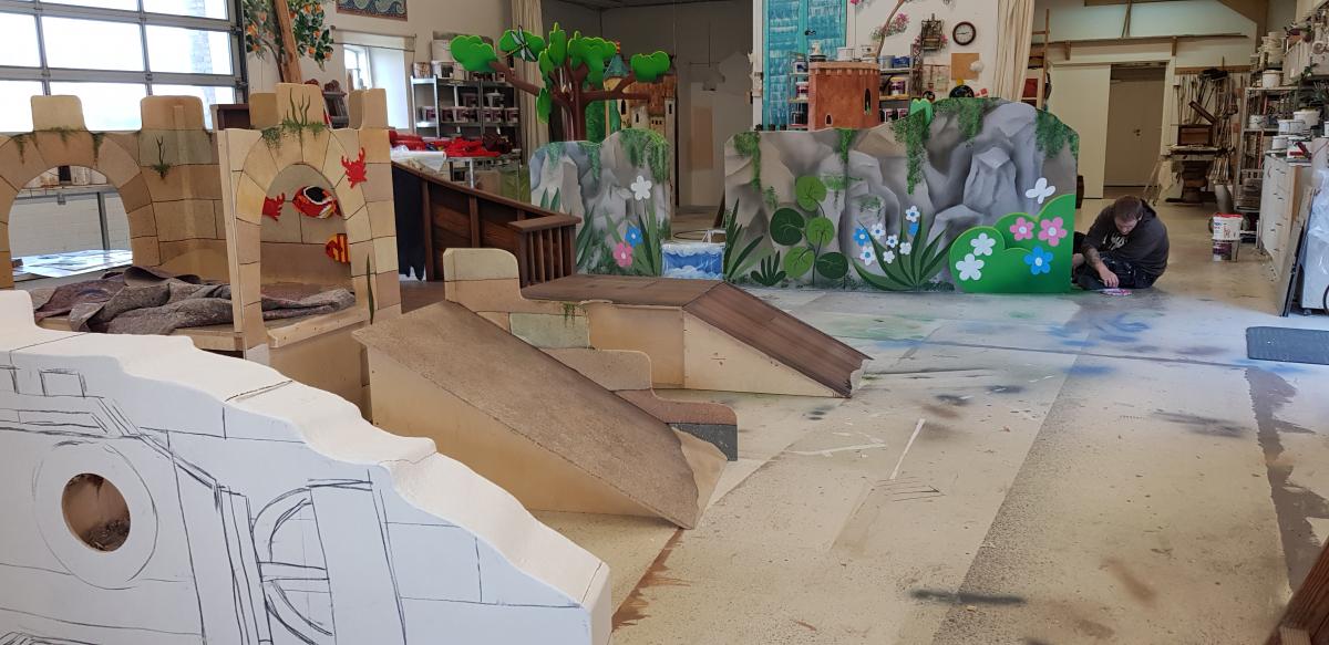 Legoland inspireret venteværelse på Skejby sygehus