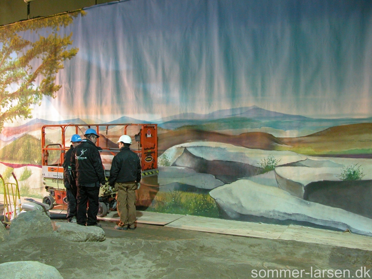 vægmaleri-minigolf-Lalandia-Billund